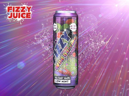 Fizzy Wildberrys 55ml + 10ml gratis